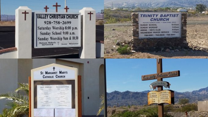 Bullhead City Area Churches Off Riverview - Havasupai